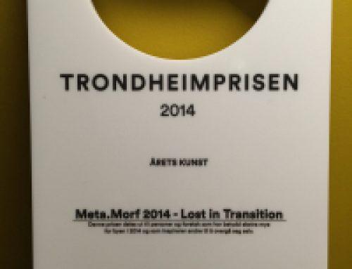 Meta.Morf 2014 vinner Natt&Dags Trondheimsprisen!