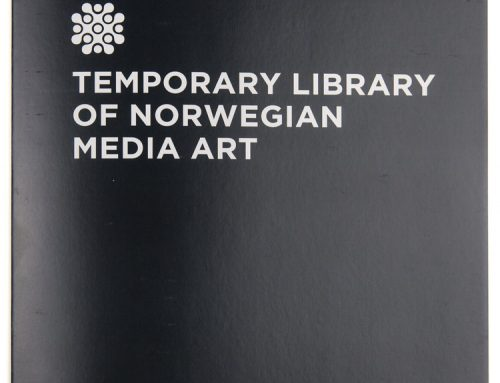 Temporary Library of Norwegian Media Art: Norwegian Media Art in Print 1992 – 2018