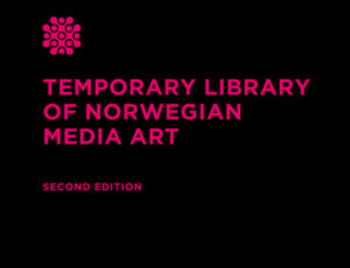Temporary Library of Norwegian Media Art / Second edition, 2019